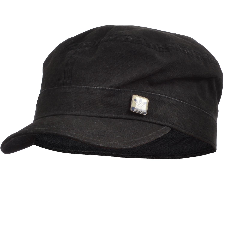 adidas Originals Mens ST Casual Military Style Cap Hat - Indigo / Black