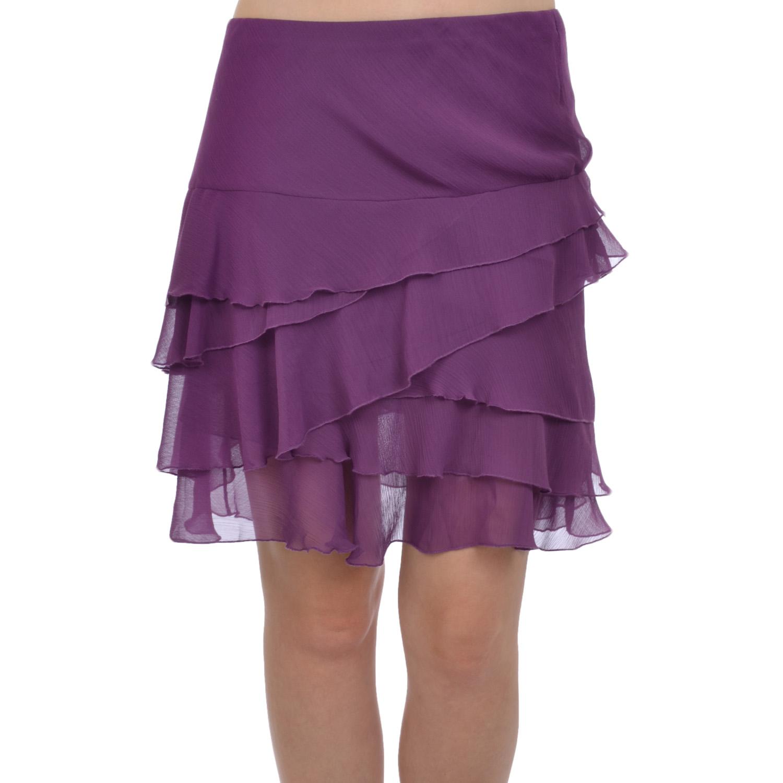 womens pleated chiffon style summer mini