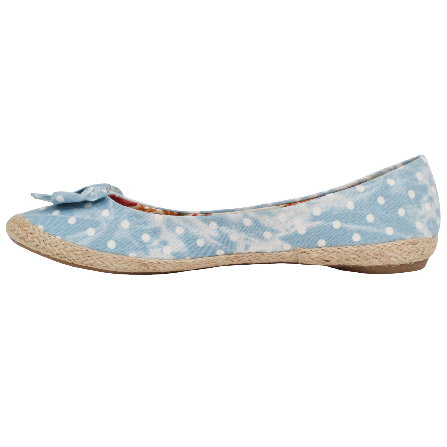 Shop for polka dot flats and other women's shoes products at ShapeShop. Browse our women's shoes selections and save today.