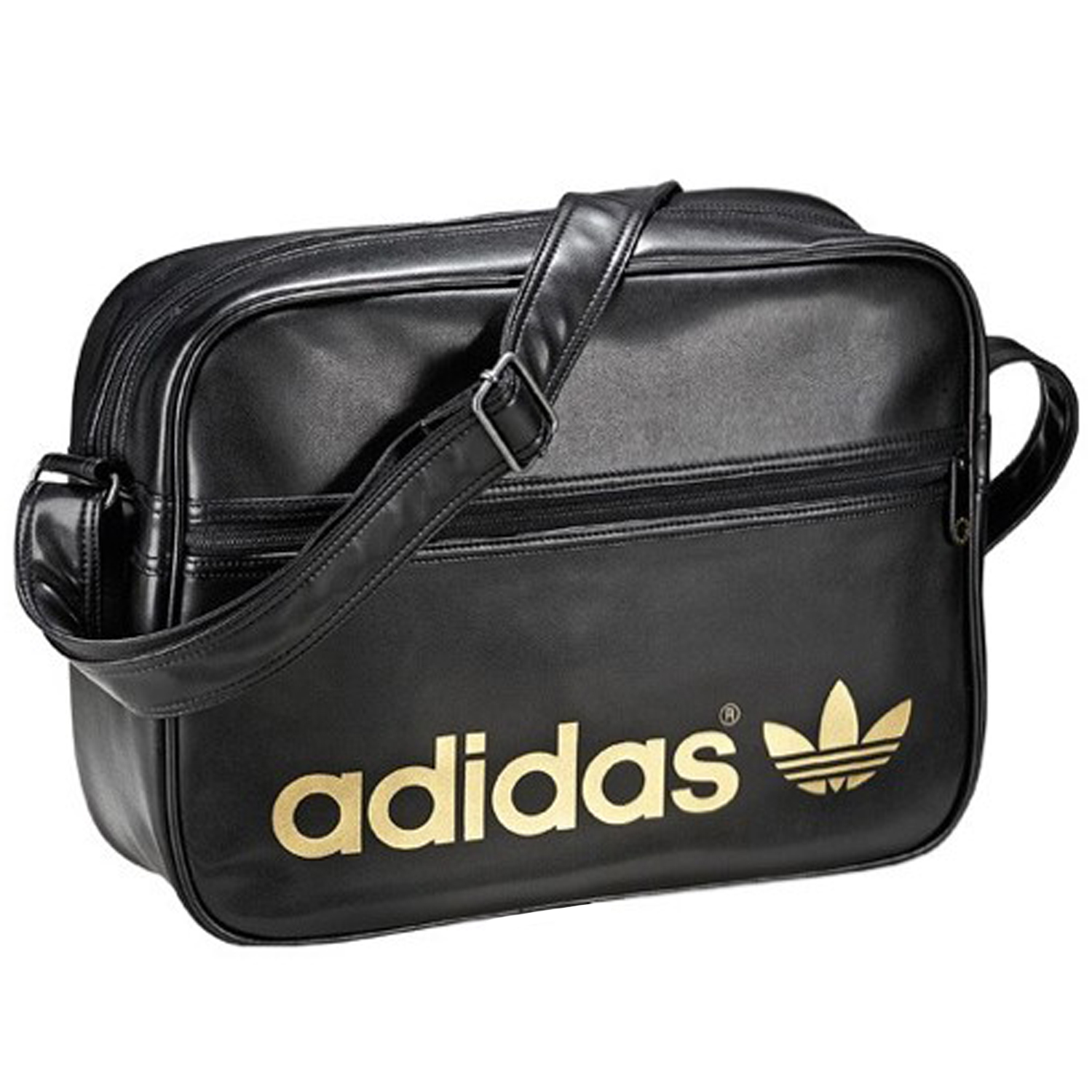adidas leather bag