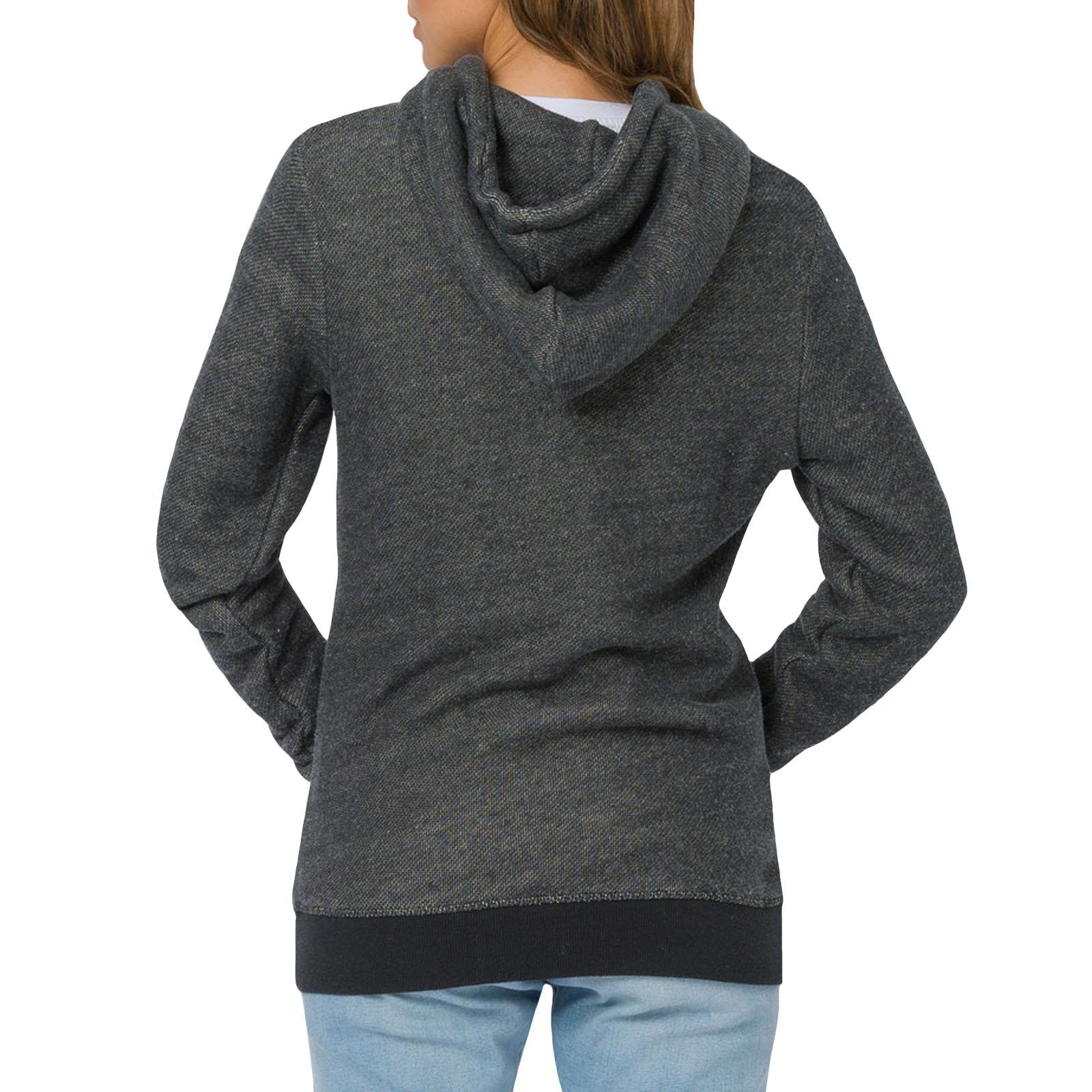 Animal Womens Trailz Casual Long Sleeve Zipped Hooded Sweatshirt Jacket Top