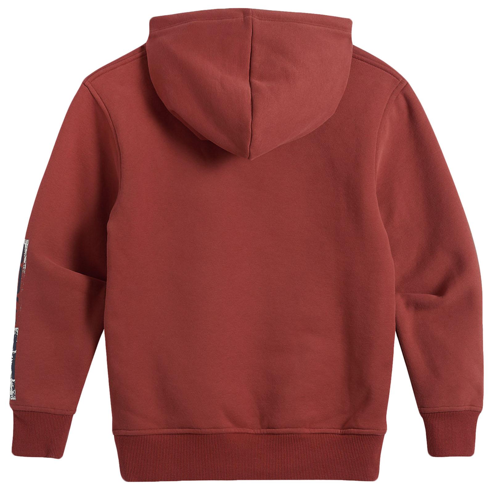 Animale Ragazzi Bambini Roadie a maniche lunghe con cappuccio Pullover Felpa Con Cappuccio Maglione sweatershirt