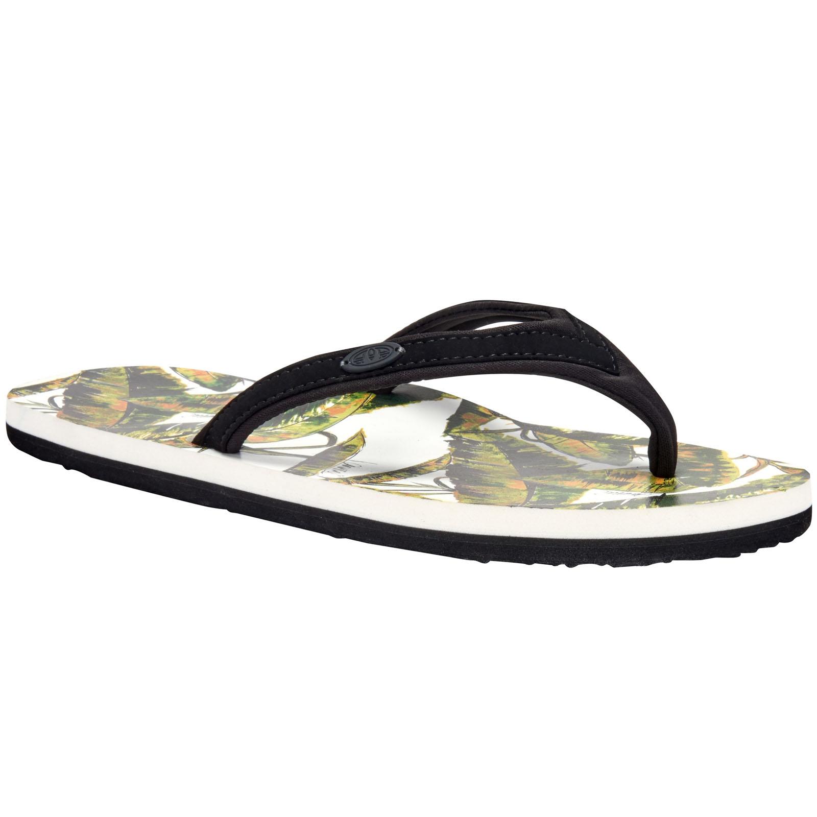Animal Swish Swim AOP Womens Floral Beach Holiday Sandals Flip Flops