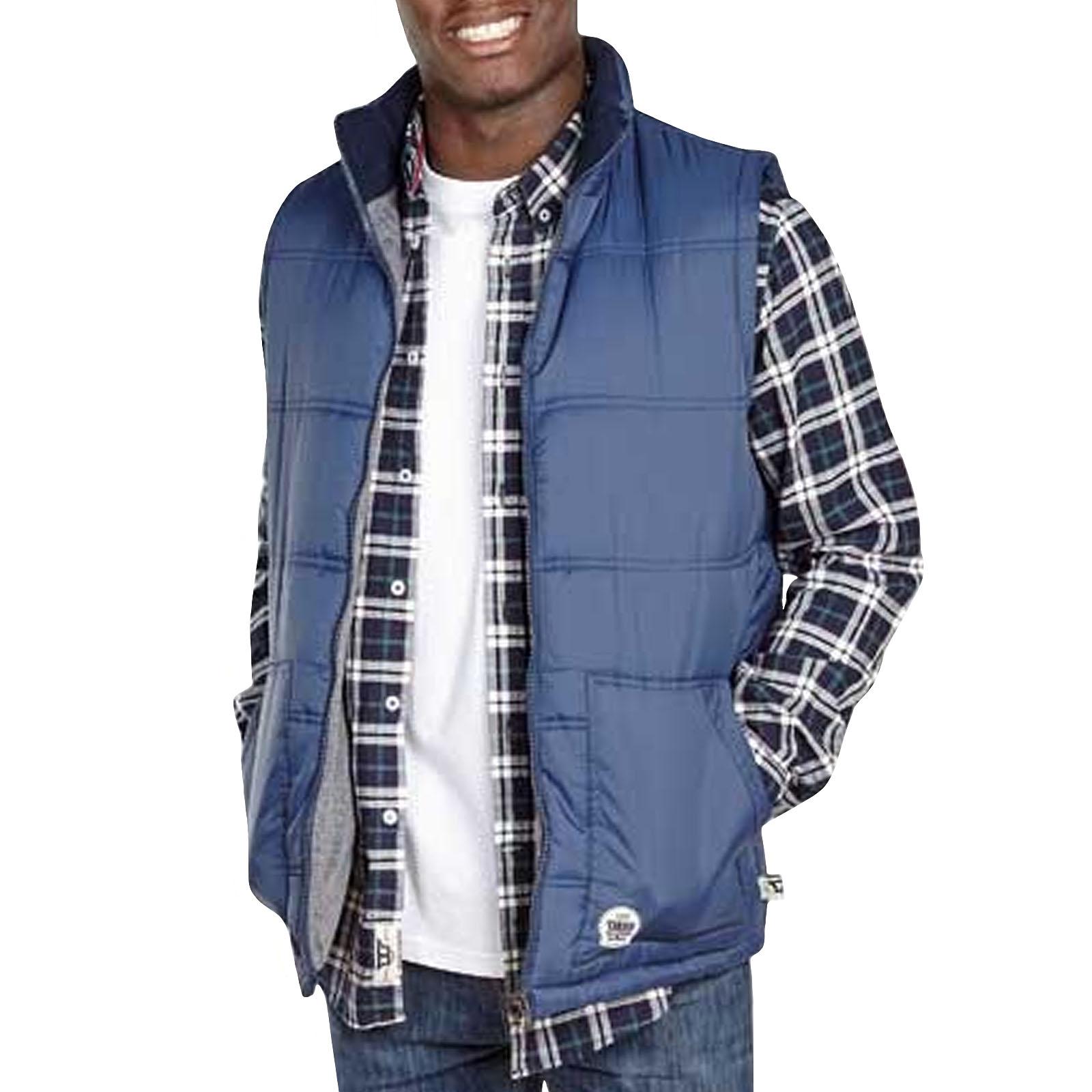D555 Mens Shaun Big Tall King Size Sleeveless Bodywarmer Gilet Jacket Top