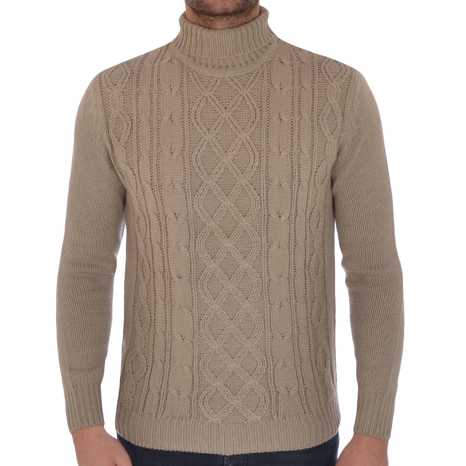 Soul Star Mens Roll Polo Turtle Neck Knitted Jumper Sweater Top eBay