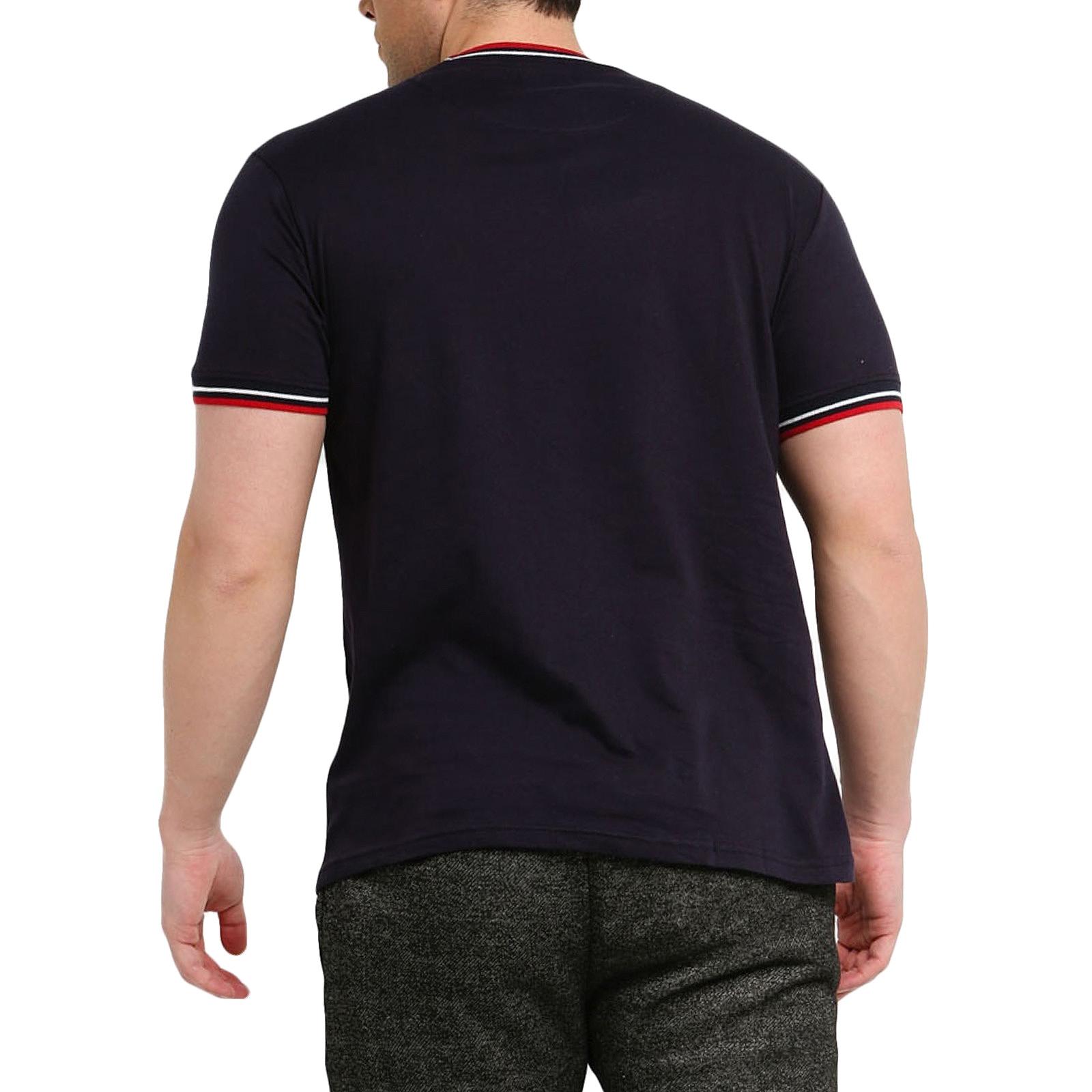 Brave Soul Federer à manches courtes Casual Regular T-shirt à encolure ras-du-Cou Tee Top