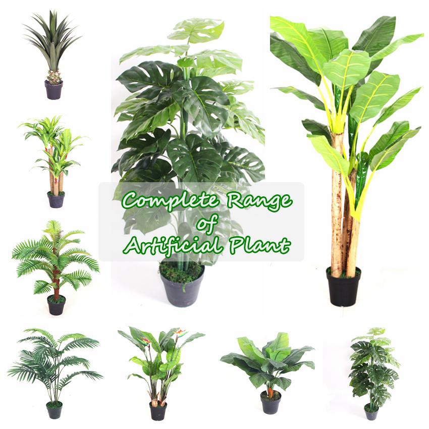 nearly natural 45 cm artificial dieffenbachia plant fake