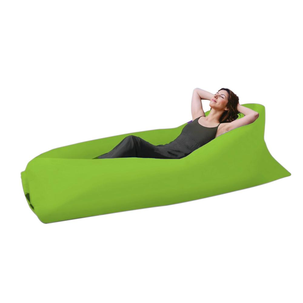 2 x Air Sofa Lounge Lay Bed Inflatable Sleeping Bag Banana Beach Camping OZ sell