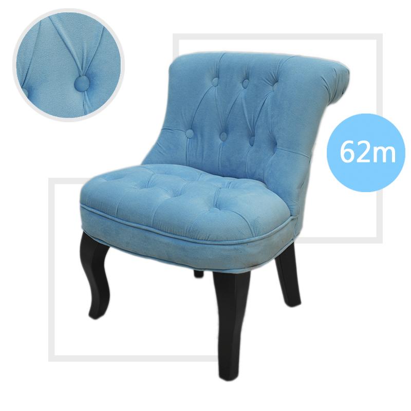Helene Kids Button Armchair Luxury Children Lounge Chair