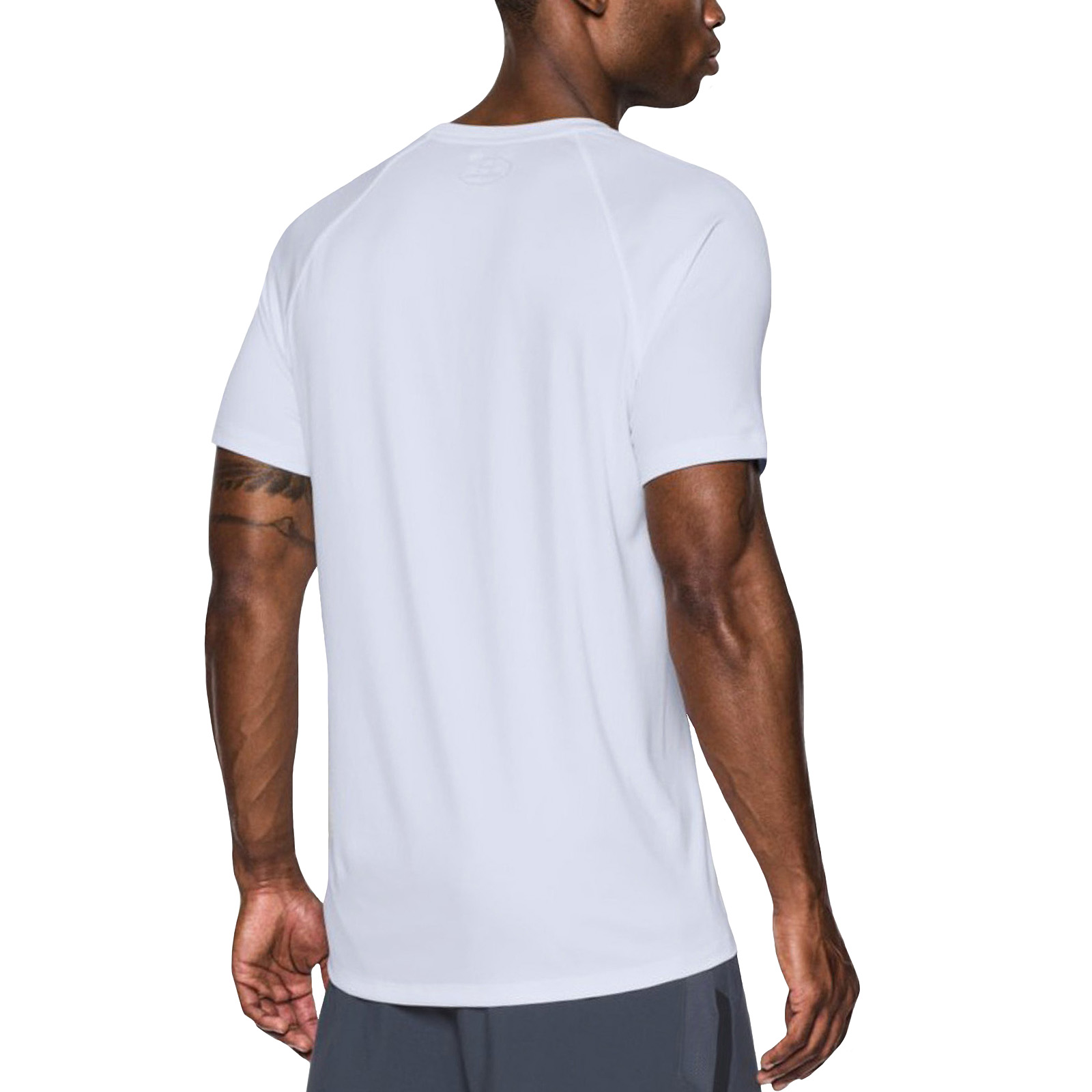 Under Armour Mens Speed Stride Short Sleeve Sports Gym T-Shirt Tee Top