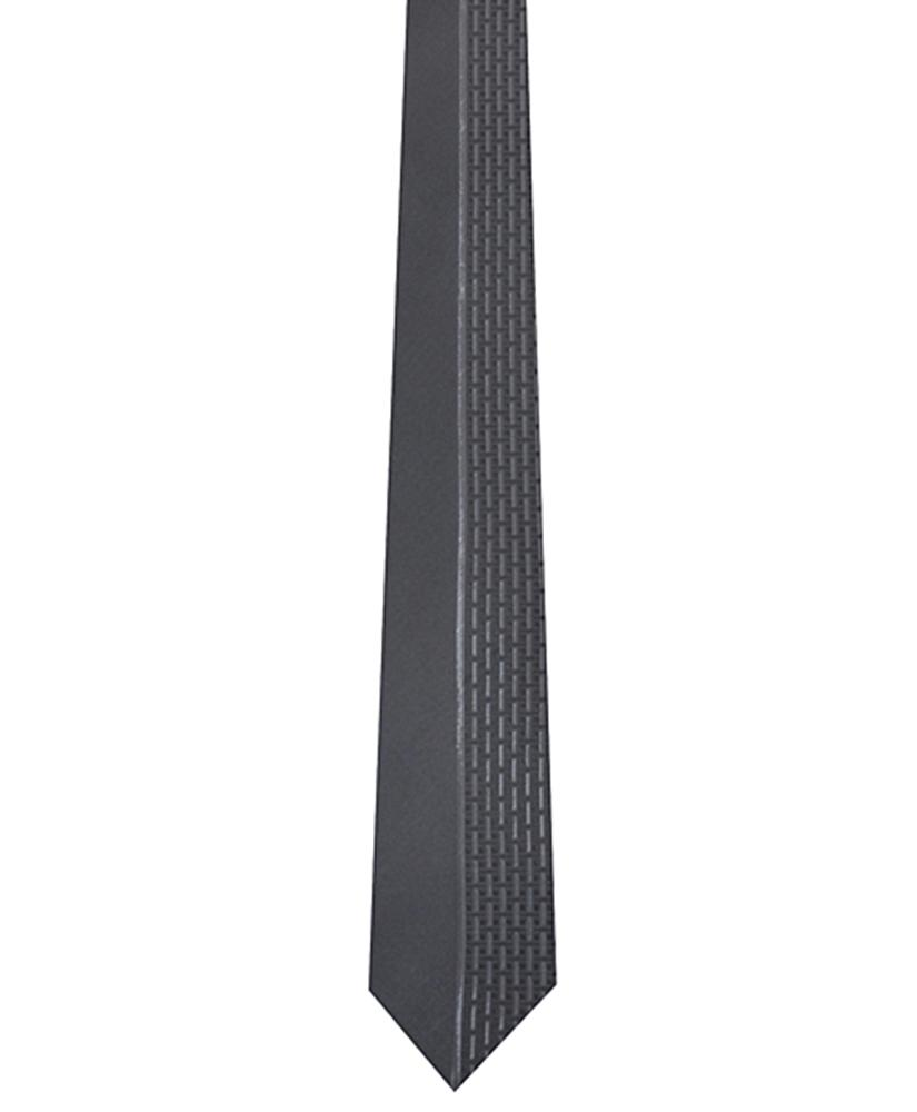 Dapper World New Men's Black Microfiber Poly Woven 2.5 Inch Slim Tie 2400 needles MPW5006 at Sears.com