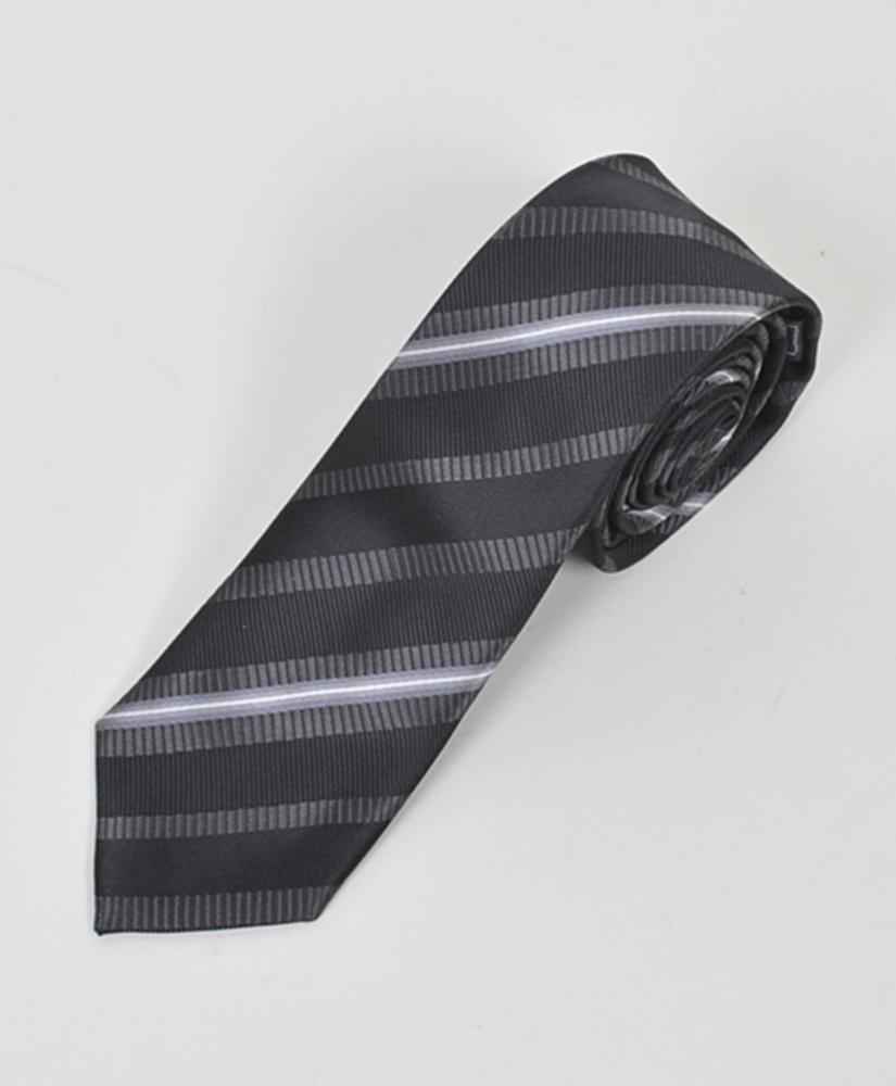"Dapper World New Men's Black 2.5"" Slim Microfiber Woven Slim Tie MPWS101BK at Sears.com"