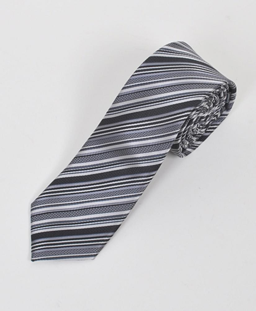 "Dapper World New Men's Black 2.5"" Slim Microfiber Woven Slim Tie MPWS103BK at Sears.com"