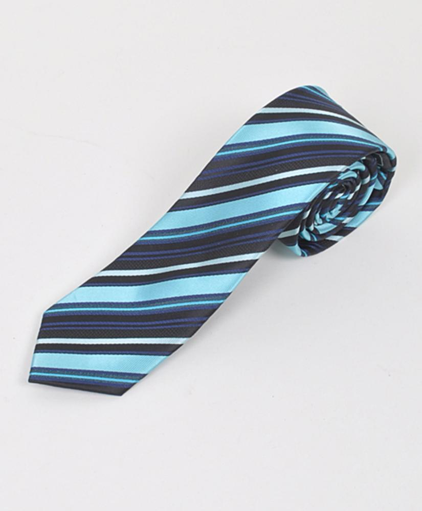 "Dapper World New Men's Black 2.5"" Slim Microfiber Woven Slim Tie MPWS104BK at Sears.com"