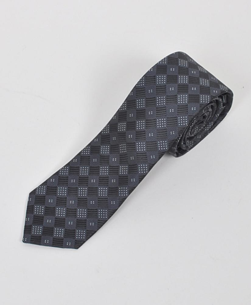 "Dapper World New Men's Black 2.5"" Slim Microfiber Woven Slim Tie MPWS110BK at Sears.com"
