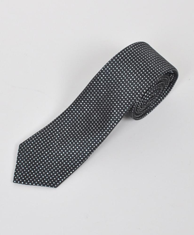 "Dapper World New Men's Black 2.5"" Slim Microfiber Woven Slim Tie MPWS111BK at Sears.com"