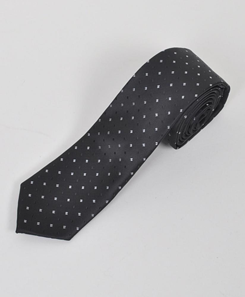 "Dapper World New Men's Black 2.5"" Slim Microfiber Woven Slim Tie MPWS112BK at Sears.com"