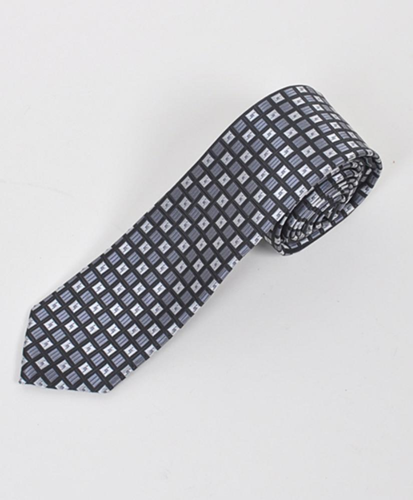 "Dapper World New Men's Black 2.5"" Slim Microfiber Woven Slim Tie MPWS114BK at Sears.com"