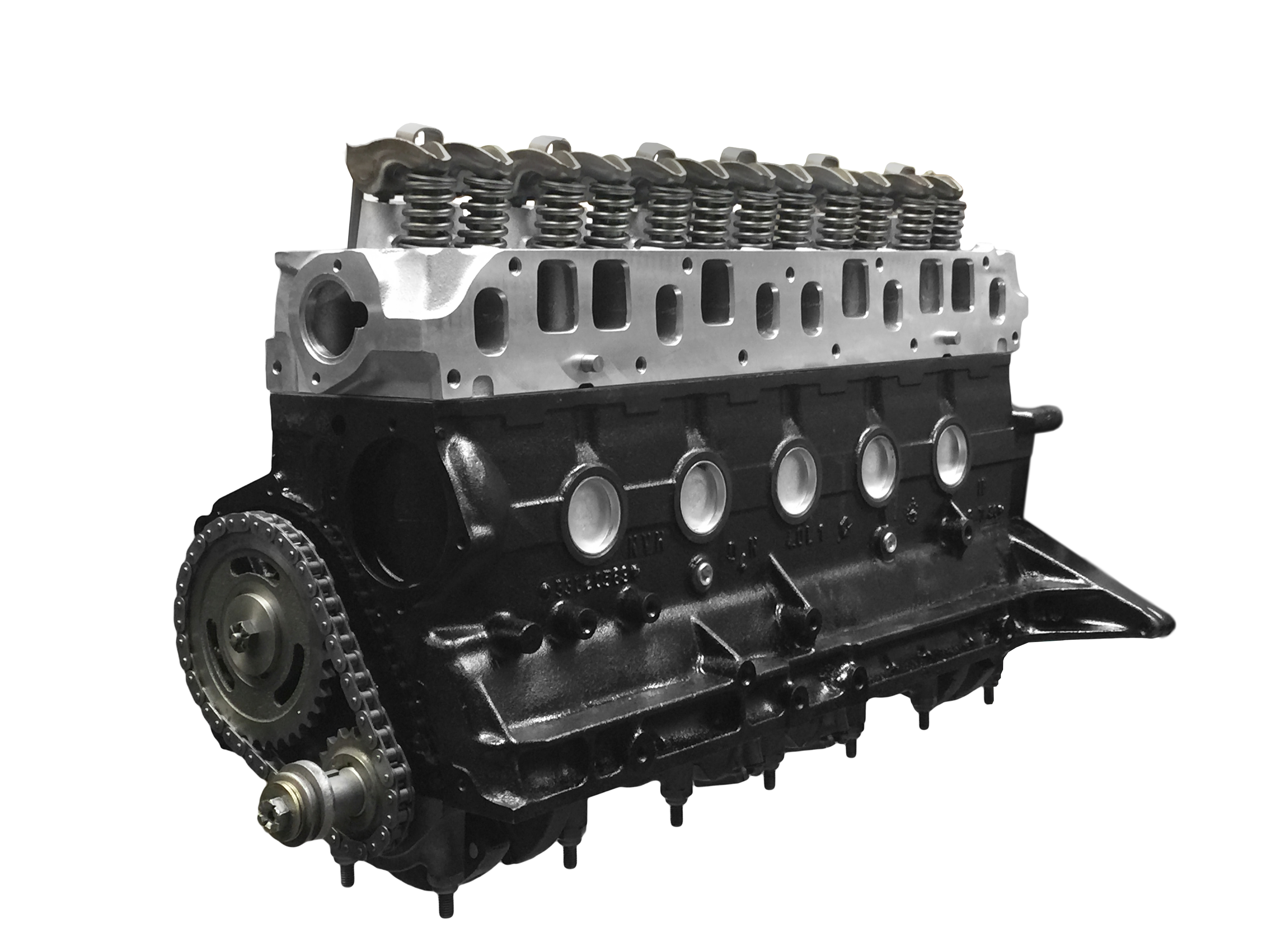 Lovely TITAN HYPER 4.7 JEEP STROKER ENGINE W/ HIGH FLOW EDELBROCK ALUMINUM HEAD    Titan Engines