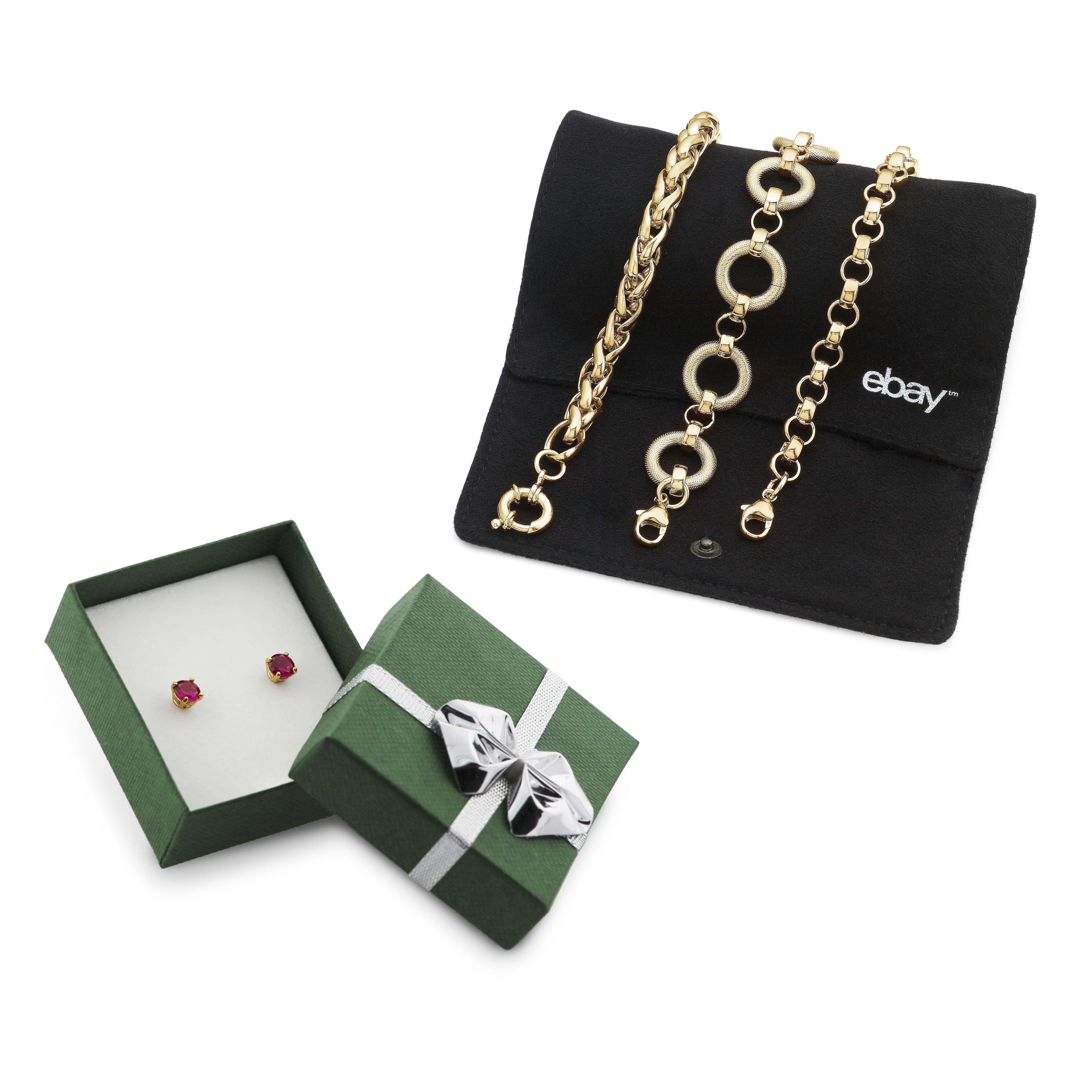 18K Gold-Plated Italian Bracelet + 2 Gifts