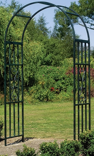 Gardman Kensington Metal Garden Arch Wedding Arbor eBay
