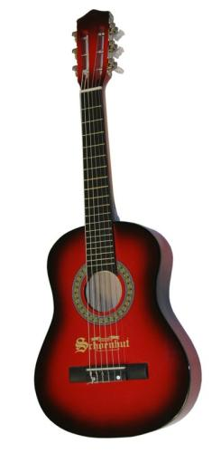 "Schoenhut Children's 6 Metal String 30"" Guitar - Red/Black at Sears.com"