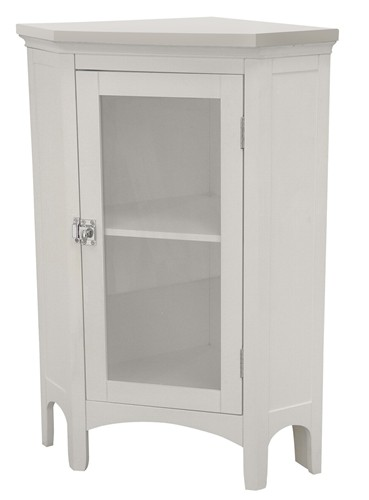 details about new madison avenue bathroom corner floor cabinet white