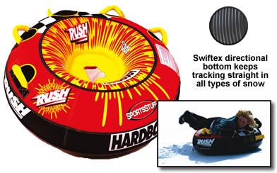 "Sportsstuff Rush 40"" Inflatable Snow Tube Winter Sled Sledding at Sears.com"