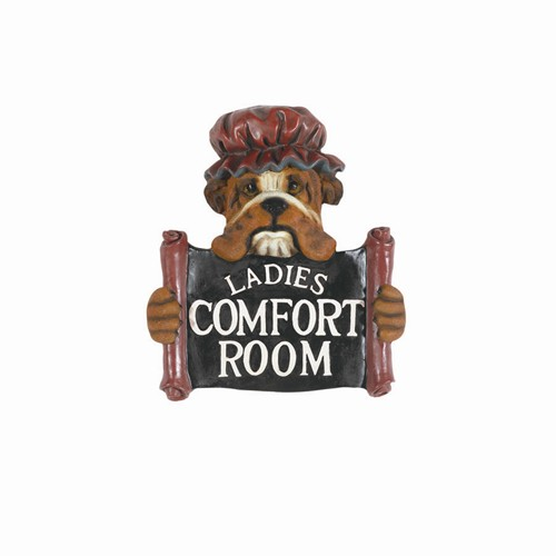 RAM Gameroom Indoor Pub Decor & Gameroom Sign - Ladies Comfort Room at Sears.com
