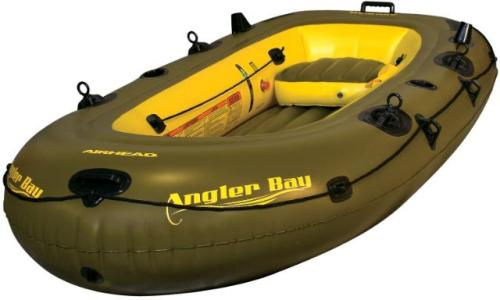 Airhead Angler Bay Inflatable Dinghy & Fishing Boat - 4 Person at Sears.com