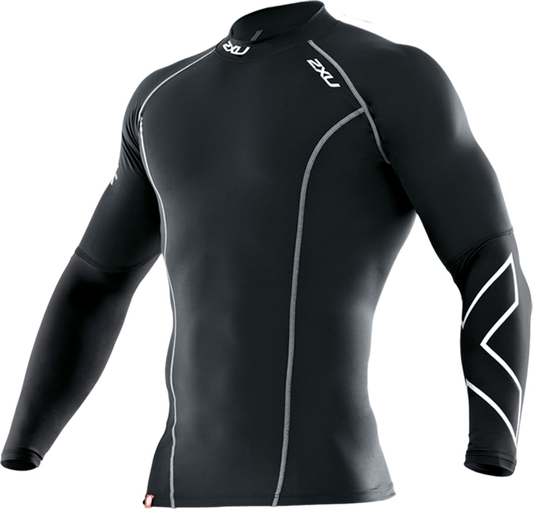 2XU Men's Thermal Long Sleeve Compression Top - Black at Sears.com