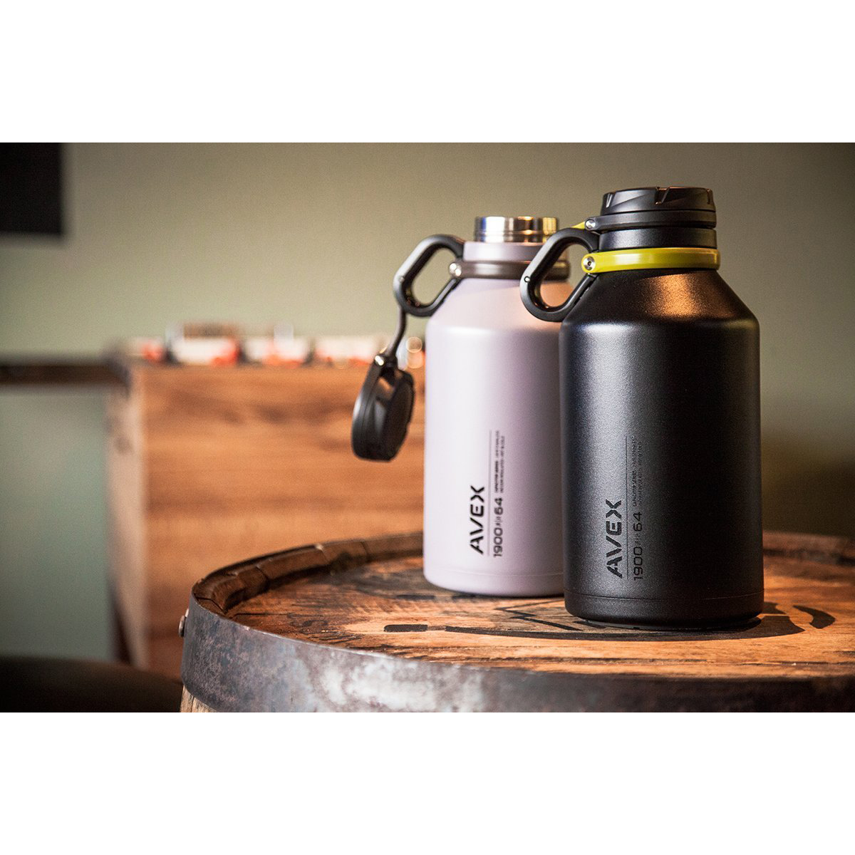 Avex 64 Oz Growler Vacuum Insulated Stainless Steel
