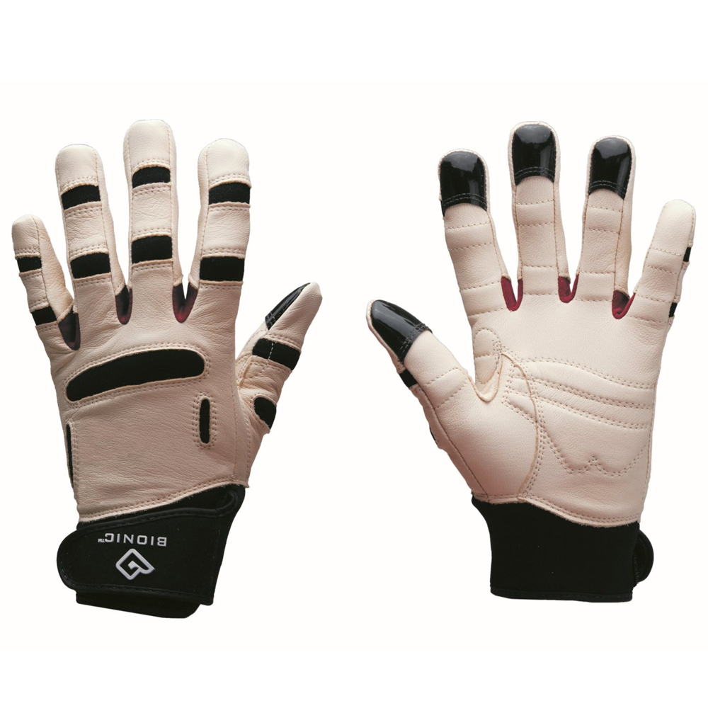 Bionic women 39 s reliefgrip gardening gloves tan black ebay for Gardening gloves ladies