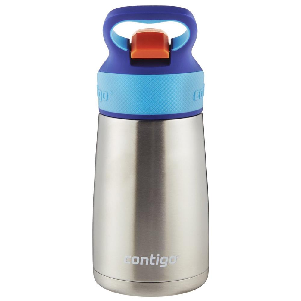 Kid/'s Striker Autospout Chill Stainless Steel Water Bottle Contigo 10 oz