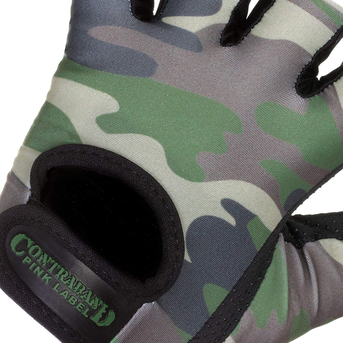 Contraband Sports 5217 Pink Label Camo Weight Lifting Gloves
