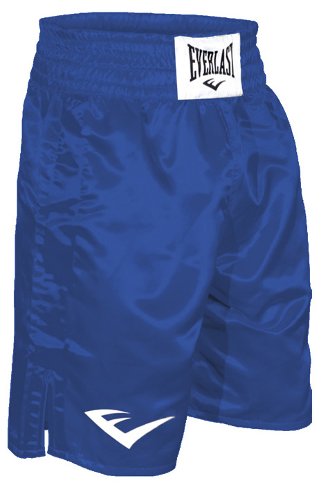 Everlast® Everlast Standard Top of Knee Boxing Trunks - Blue at Sears.com
