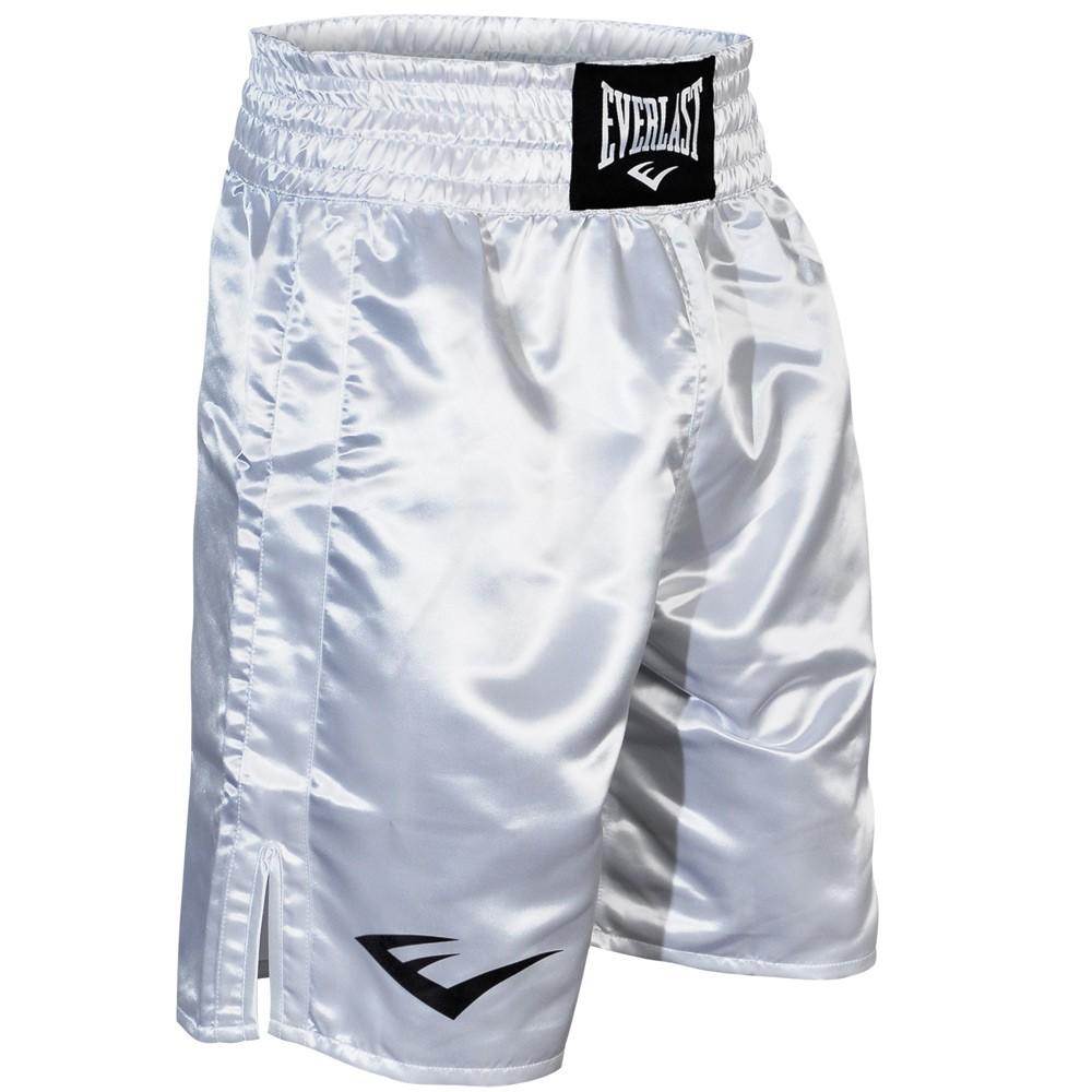Everlast® Everlast Standard Bottom of Knee Boxing Trunks - White at Sears.com