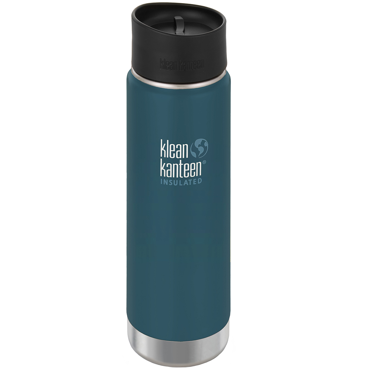 Klean Kanteen Wide Mouth 20 oz. Insulated Bottle with Cafe ...