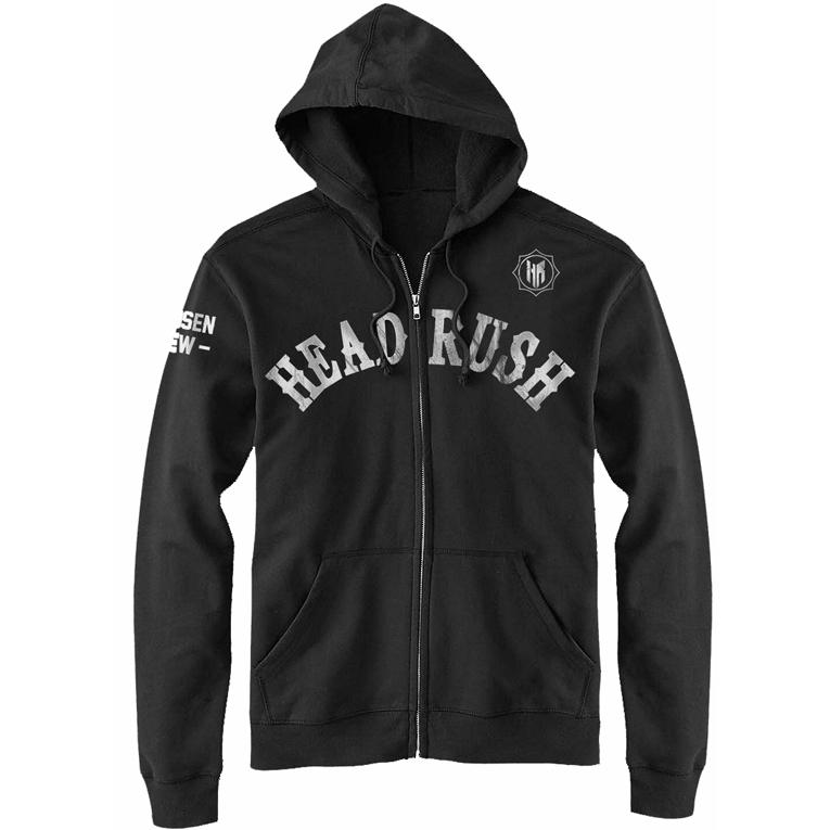 Headrush Headrush Rough Rider Zip Hoodie - Black