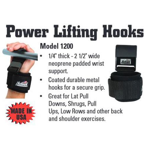 Schiek Power Lifting Hooks