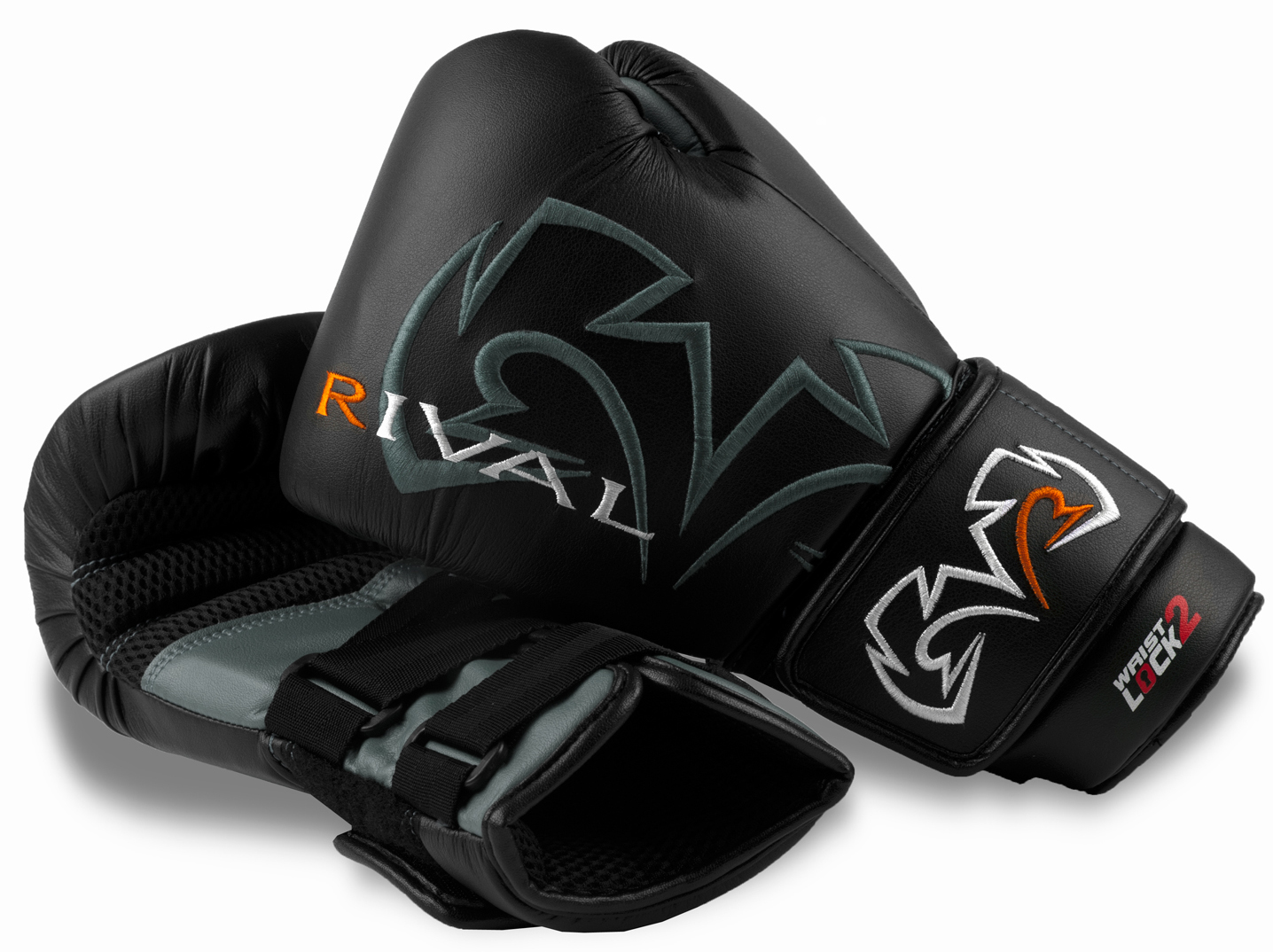 Rival Boxing Evolution Bag Gloves - Black/Gray at Sears.com