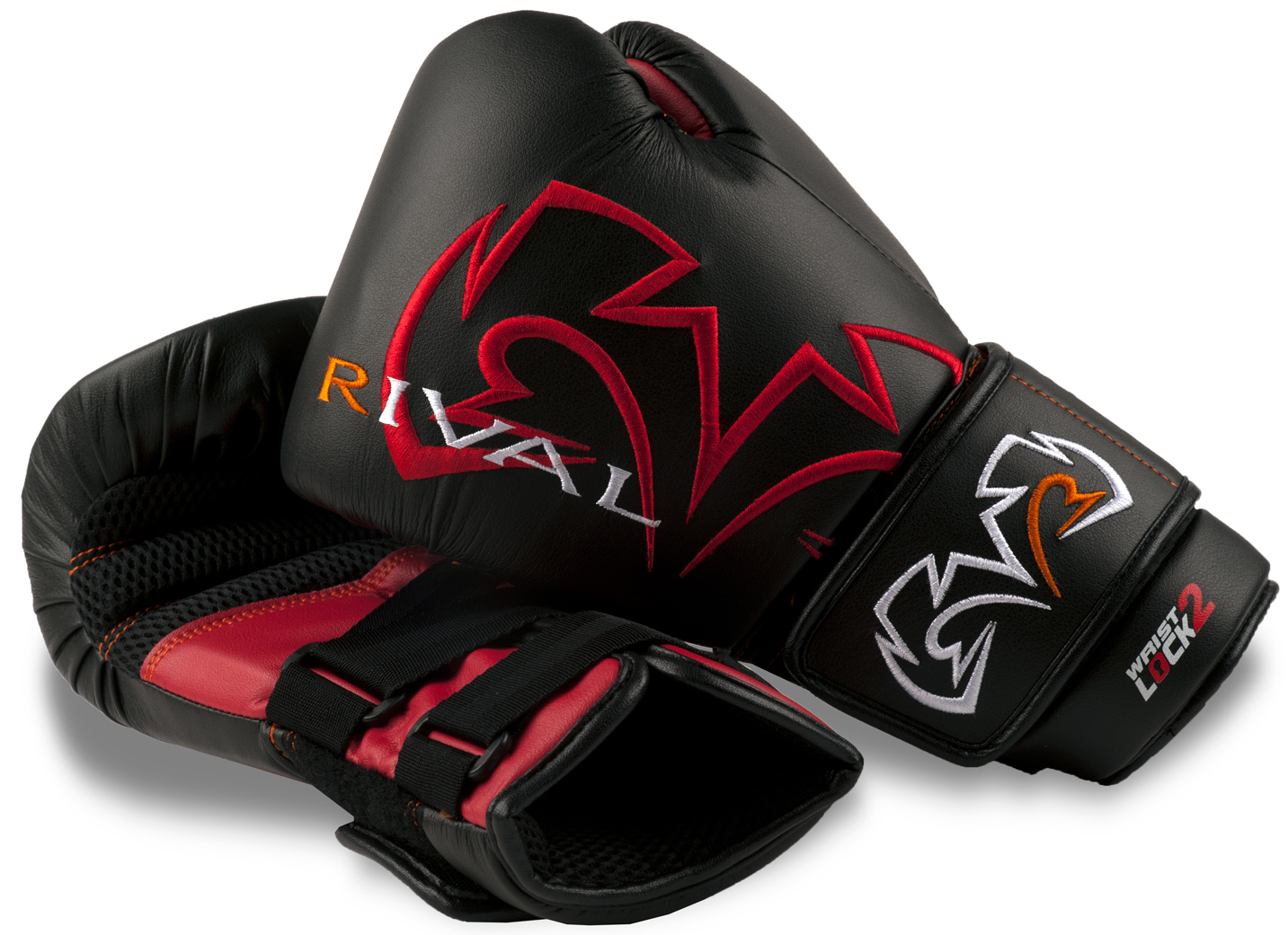 Rival Boxing Evolution Bag Gloves - Black/Red at Sears.com