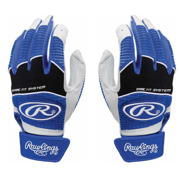 Rawlings Youth Workhorse 950 Series Batting Gloves - Royal Blue