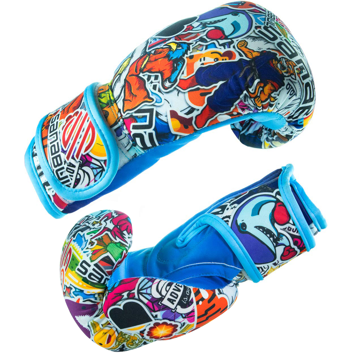 Sanabul Sticker Bomb Kids Boxing Gloves