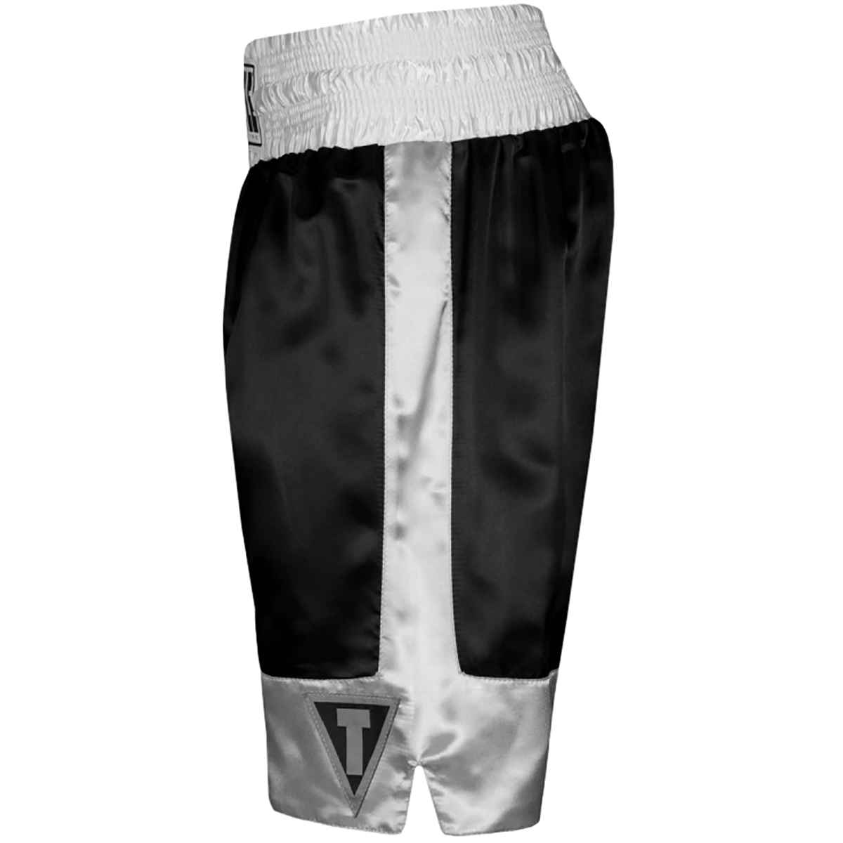 """Title Boxing Force 4/"""" Waistband Satin Boxing Trunks"""