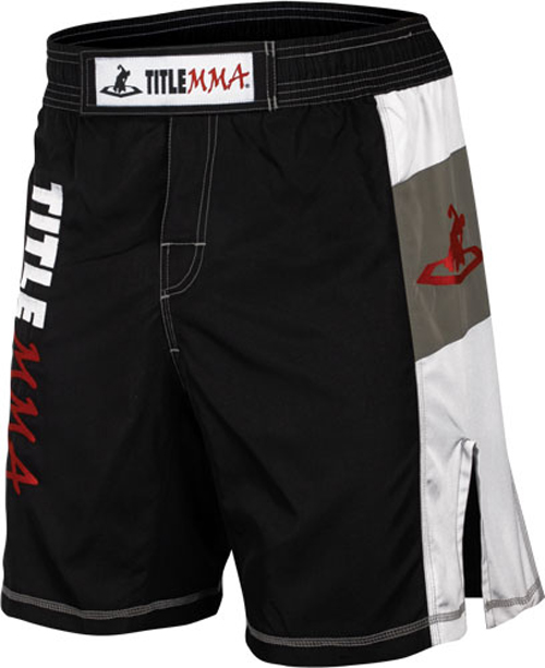 Title Boxing Title MMA Quad-Flex Valor Fight Shorts - Black at Sears.com
