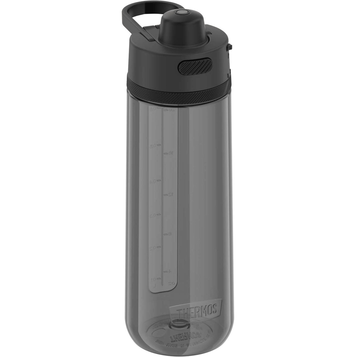 Guardian Collection Hard Plastic Hydration Bottle with Spout Thermos 24 oz