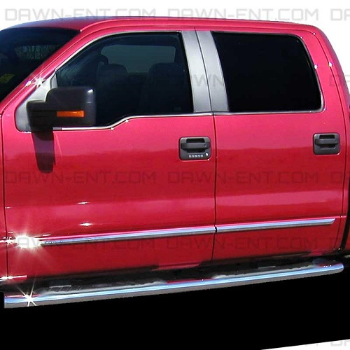 Dawn Ent Chrome Body Side Molding For 2005 2015 Ford F