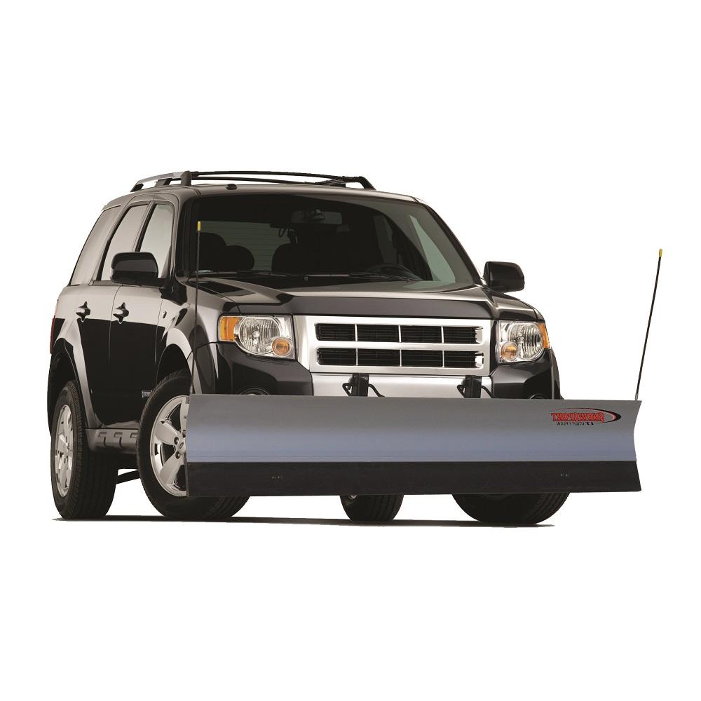 Snowsport Lt 7 U0026 39  Snow Plow For 02 Gmc  Buick