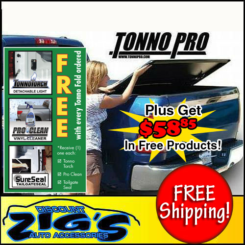 Tonno Pro TonnoPro Tri-Fold Tonneau Cover for 73-87 Chevy/GMC Full Size 6.5' Short Bed at Sears.com